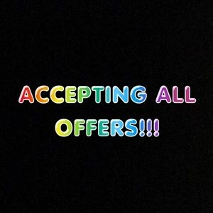 💕💕LIMITED TIME ACCEPTING ALL OFFERS💕💕